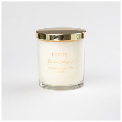 Bamboo Blossom Candle Boxed