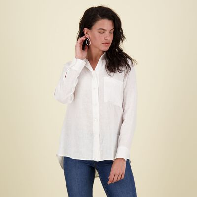 Sally Linen Blouse