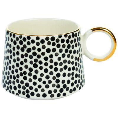 Black & White Dots Mug