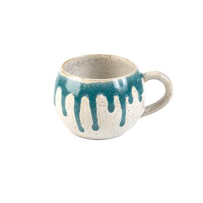 Teal Rounded Mug