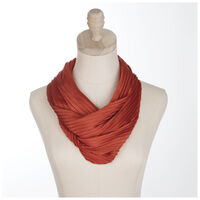 Brylee Pleated Scarf -  red