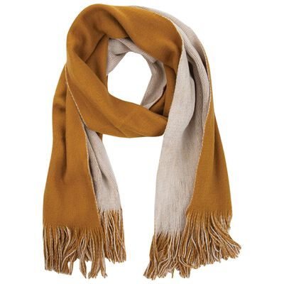 Charleigh Two-Tone Warm Handle Scarf