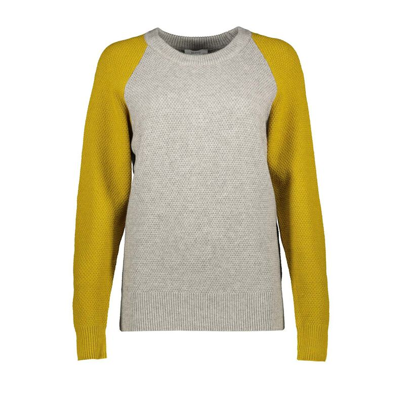 Molly Colourblock Pull Over -  chartreuse