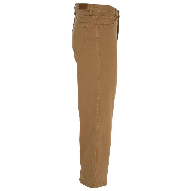 Mikey Wide Leg Denim -  tan