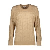 June Metalic Cable Jumper -  gold