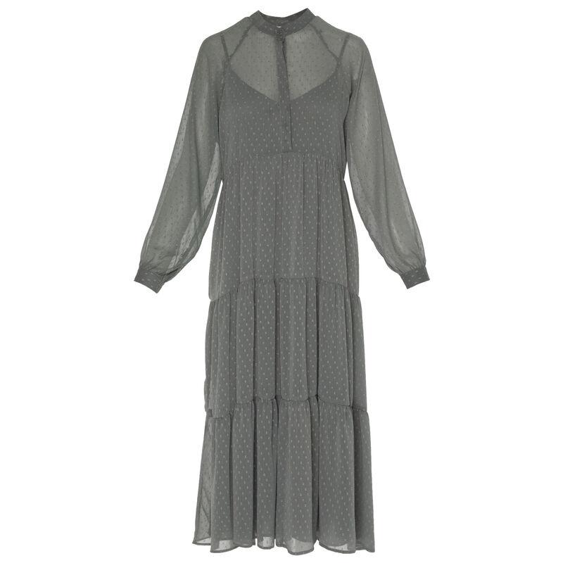 Chrissy Tiered Maxi Dress -  green