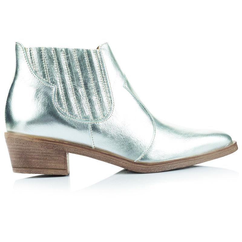Rare Earth Celina Boot -  silver