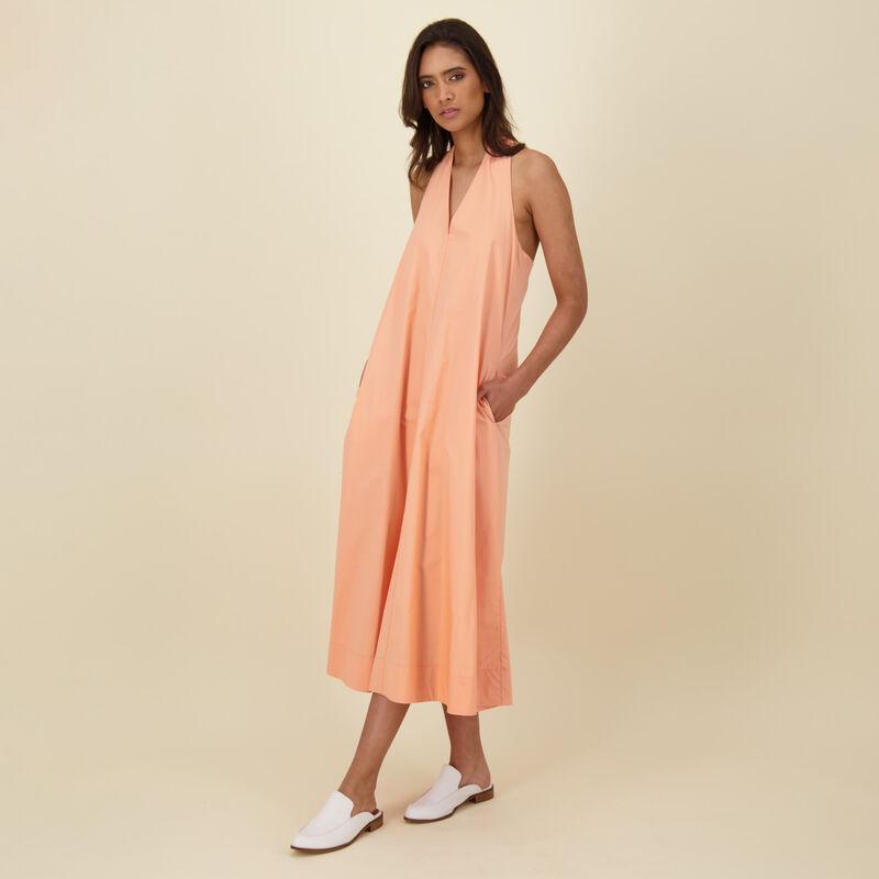 Preston A-Line Dress -  orange