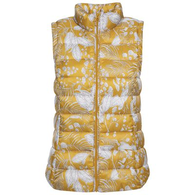 Amor Printed Sleeveless Puffer