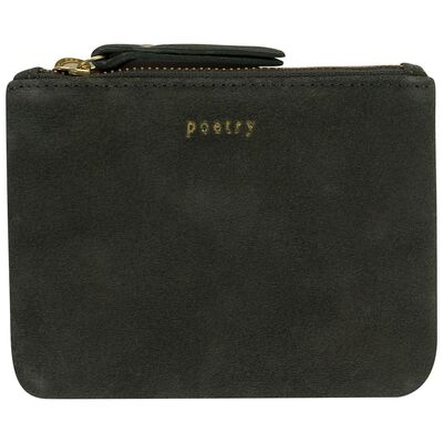 Moira Small Suede Pouch