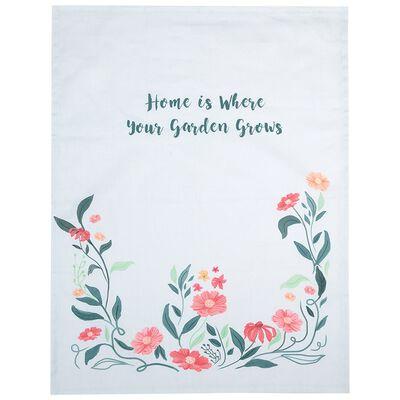 How Does your Garden Grow Tea Towel