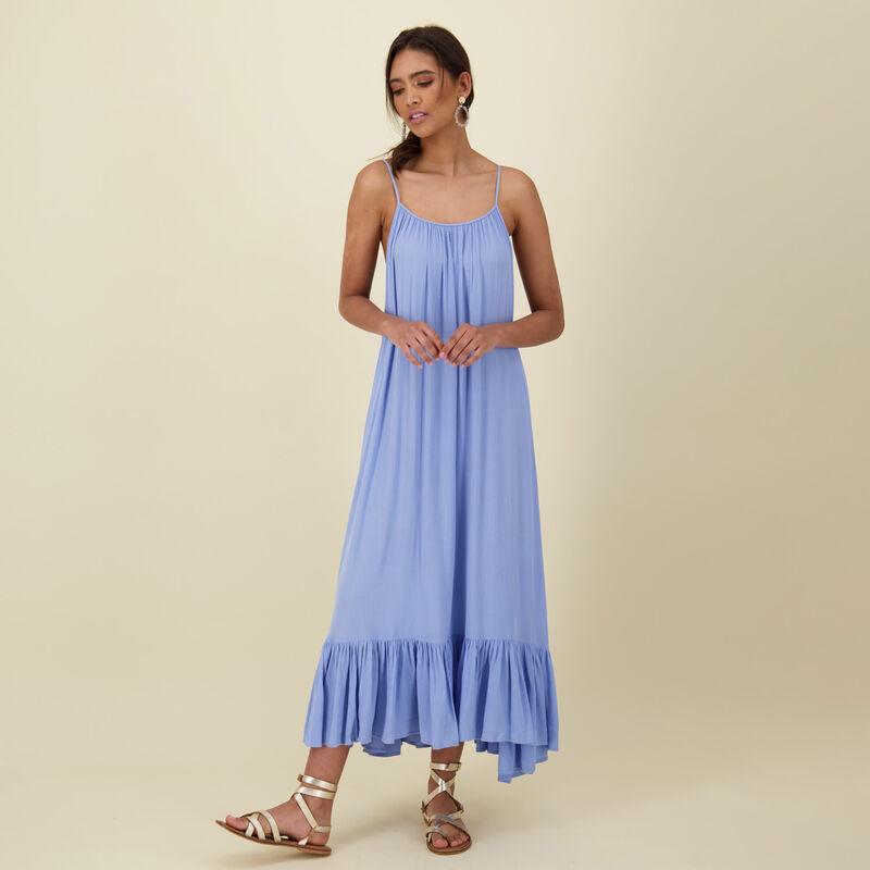 Iris Maxi Dress -  blue