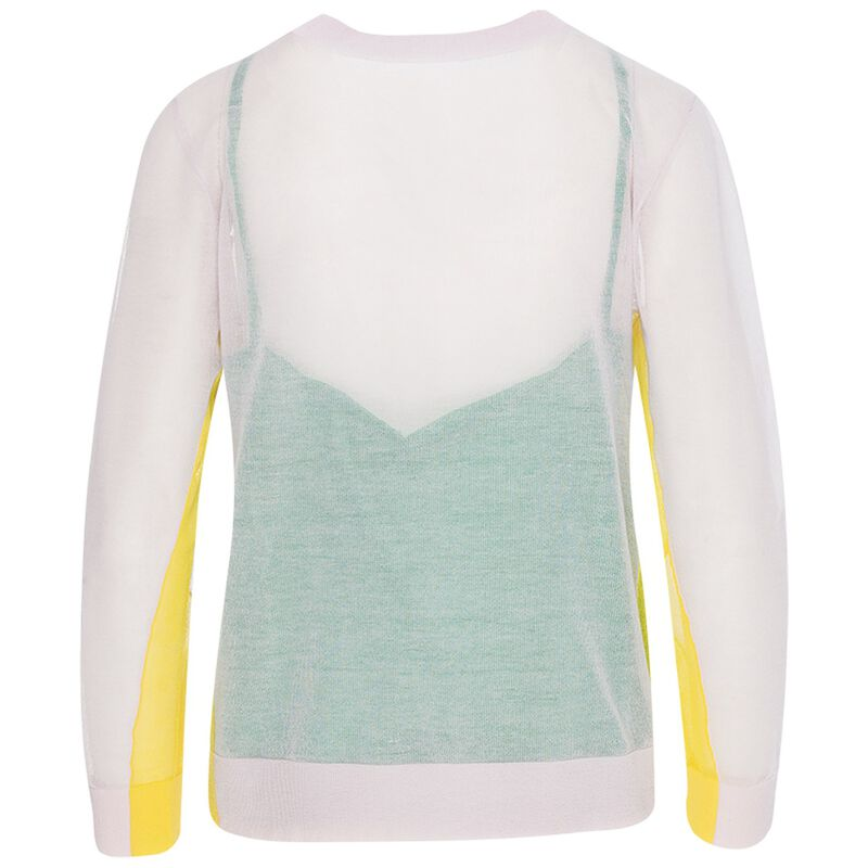 Celene Colourblock Pull-Over -  pink