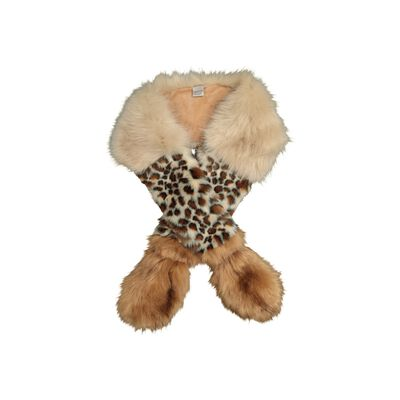 Ellis Animal Print Faux Fur Stole