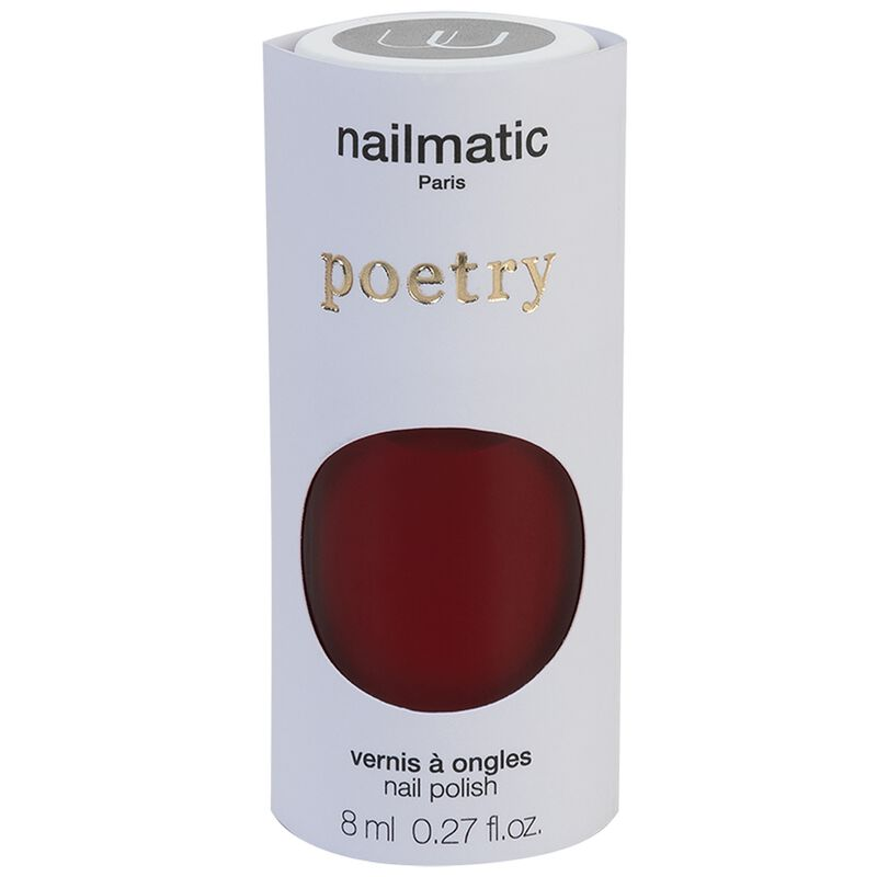 Nailmatic Kate Nail Polish -  darkred