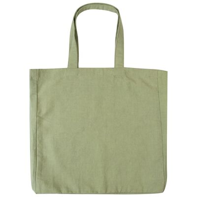Sage Canvas Tote Bag