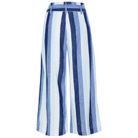 Astri Stripe Pant -  blue