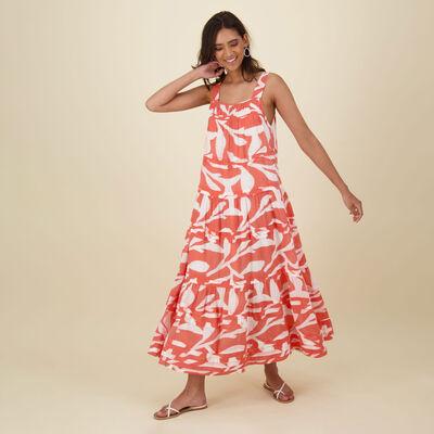 Kaia Printed Dress