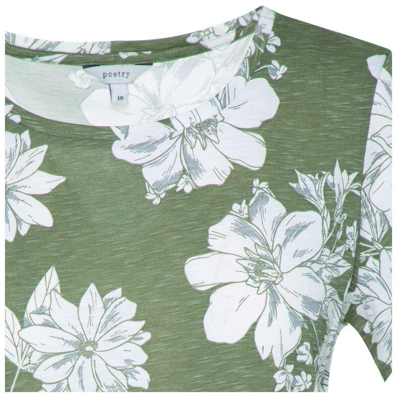 Rana All-Over Printed T-Shirt -  fatigue