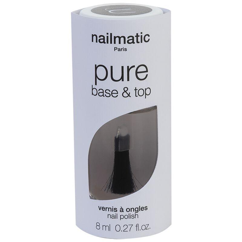 Nailmatic Pure Base and Top Coat -  nocolour