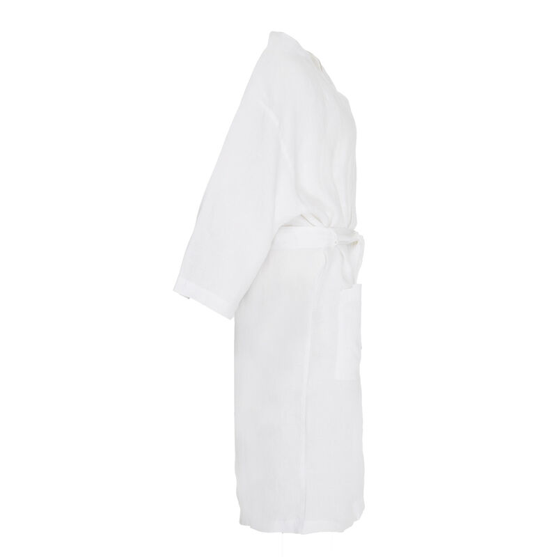 Hunny Linen Gown -  white