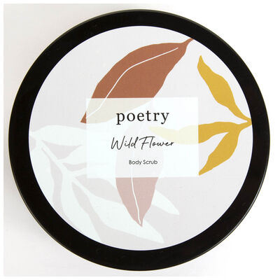 Wild Flower Body Scrub