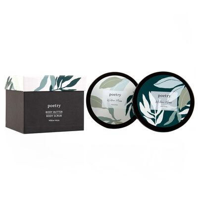 Willow Moss Body Butter & Scrub Gift Set