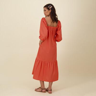 Maya Poplin Maxi Dress