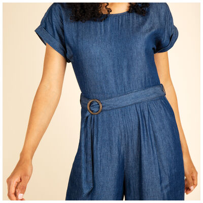 Mika Denim Jumpsuit