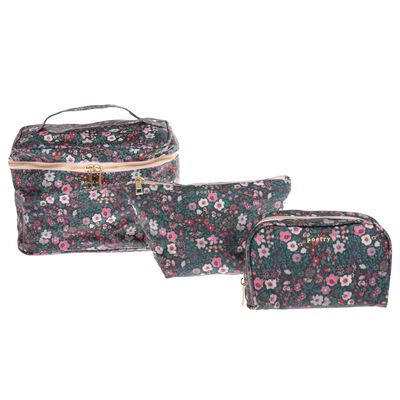Blake Floral Cosmetic Bag
