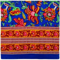 Saanvi Tablecloth -  blue-ochre