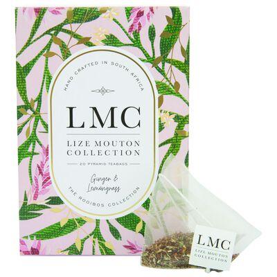 LMC Ginger and Lemongrass Tea