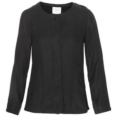 Alexa Rushed Sleeve Blazer