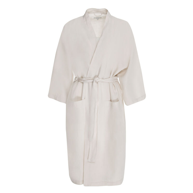 Hunny Linen Gown -  stone