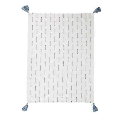 Blue Stitch Tea Towel