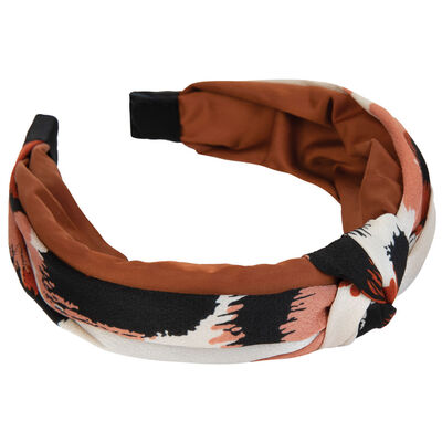 Two-Tone Animal Print Alice Band