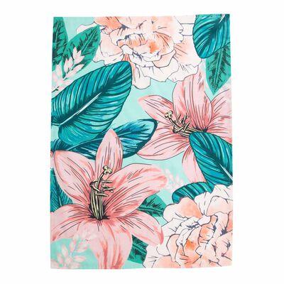 Oversized Florals Tea Towel