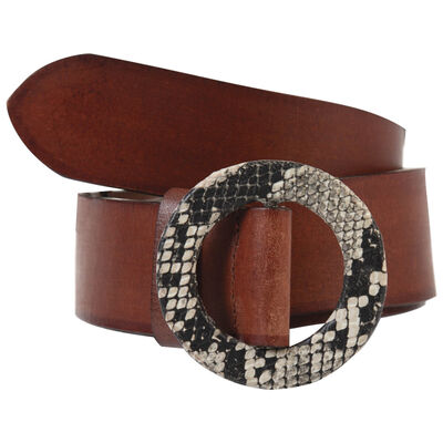 Emberly Leather Belt
