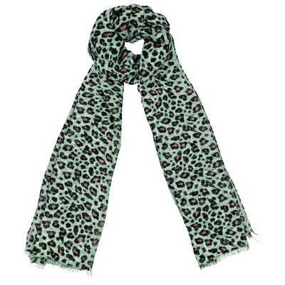 Saylor Animal Print Scarf