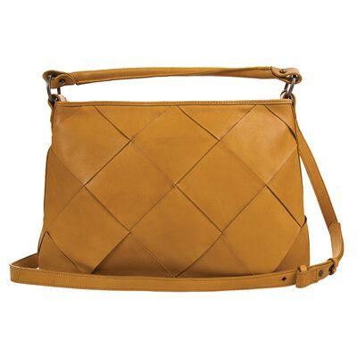 Denise Plaited Leather Tote Bag