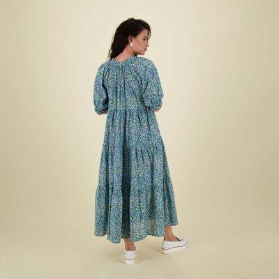 Nuha Printed Maxi Dress
