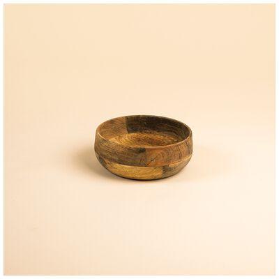 Small Acacia Wood Bowl