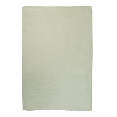 Basil Green Linen Tea Towel