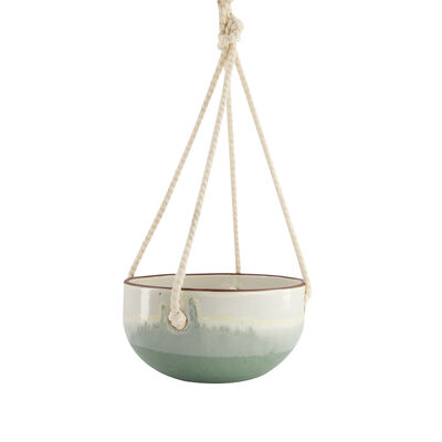 Large Sage Hanging Planter