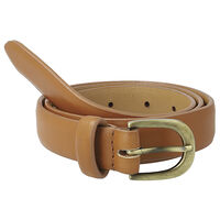 Finley Formal Belt -  tan