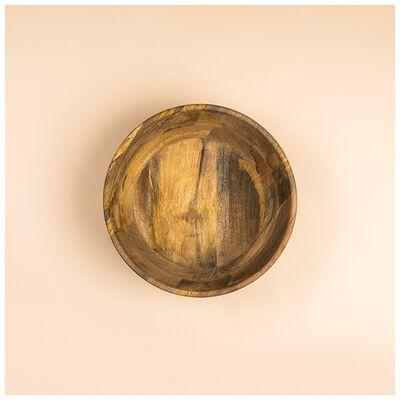 Large Acacia Wood Bowl
