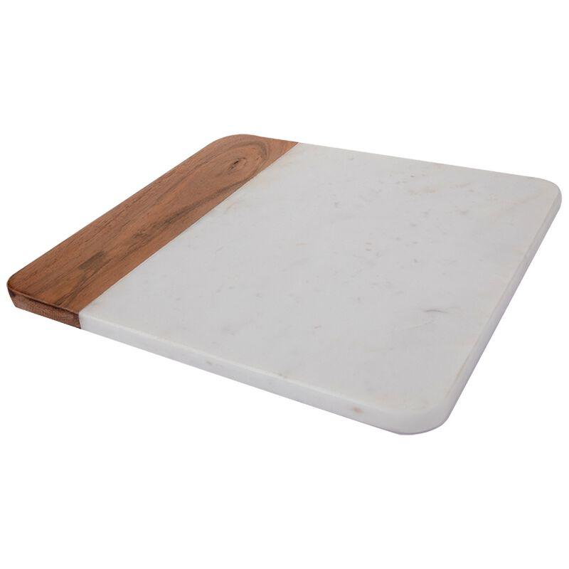 Marble Wood Serving Board -  lightgrey-brown