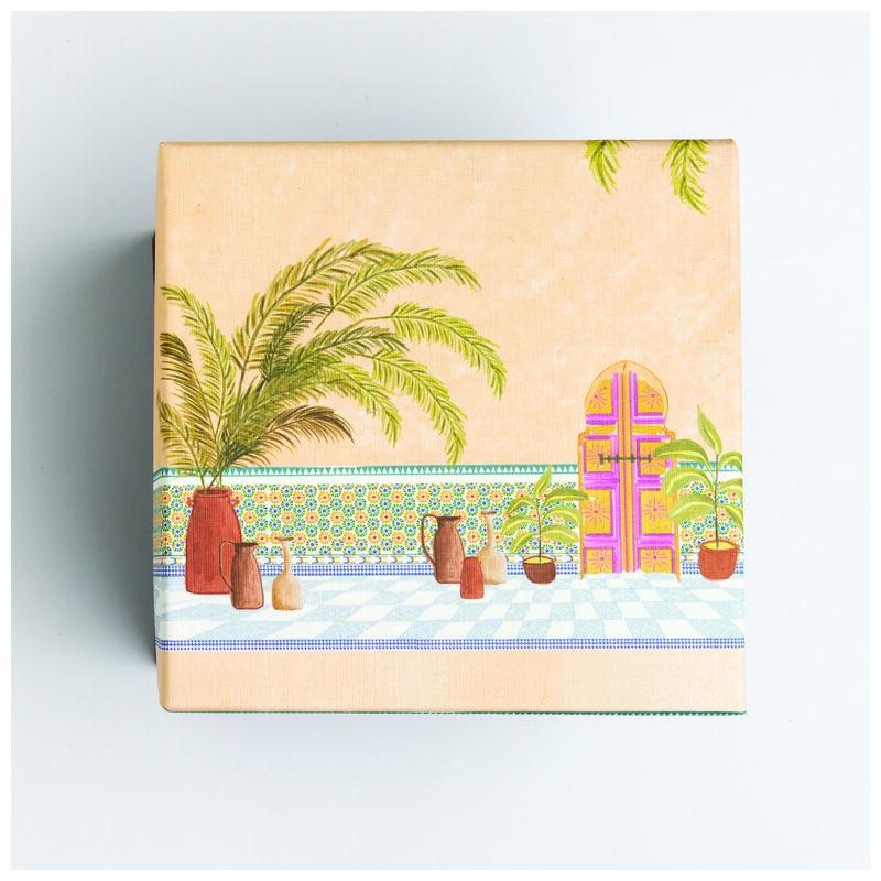 Marrakech Body Butter and Body Scrub Gift Set -  assorted