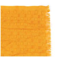 Elsie Textured Plain Scarf -  yellow