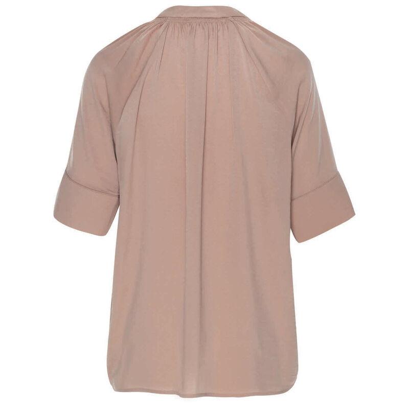 Oria Satin Blouse -  pink